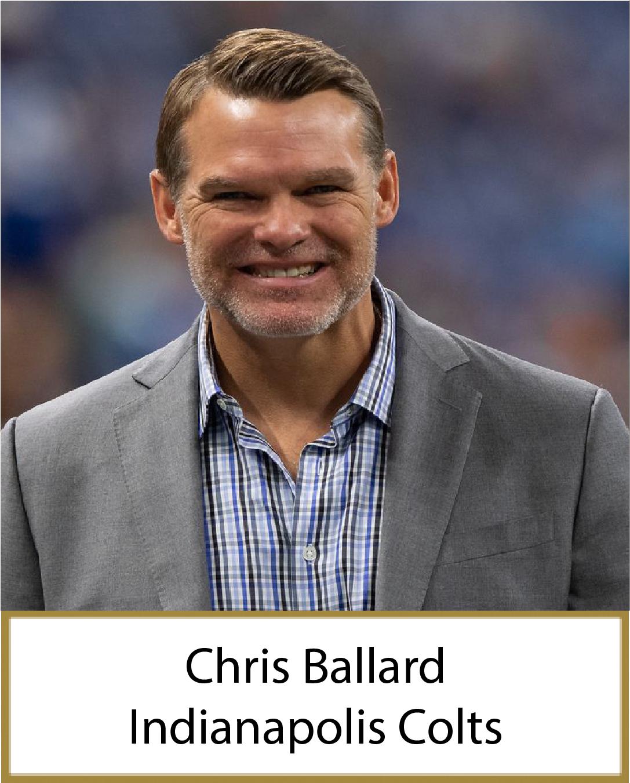 Chris Ballard 2021