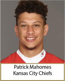 Patrick Mahomes 2020